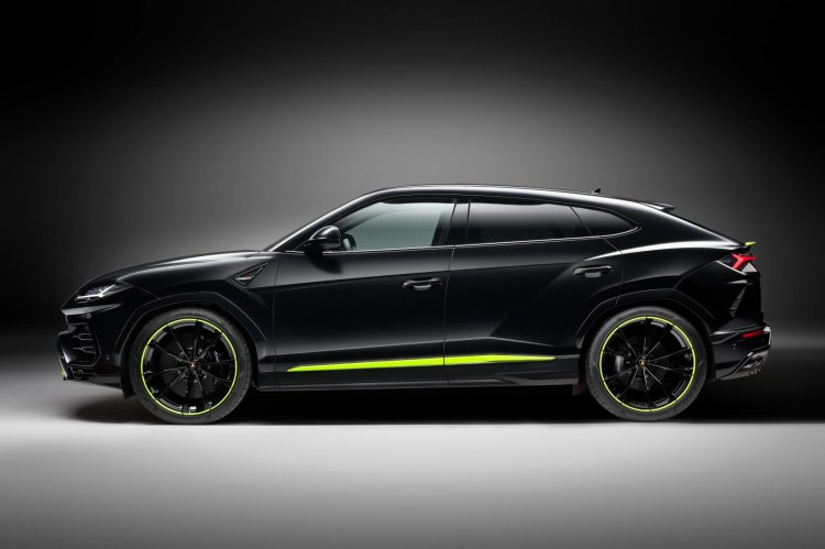 Lamborghini Urus Graphite Capsule Left Side