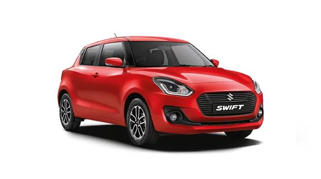 Maruti Swift Front Third Quarter
