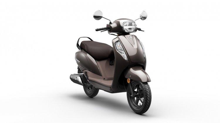 Suzuki Access 125 Front 3 Quarter