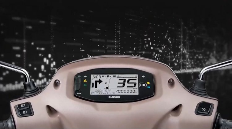 suzuki access 125 bluetooth Suzuki Access 125 Instrument Cluster