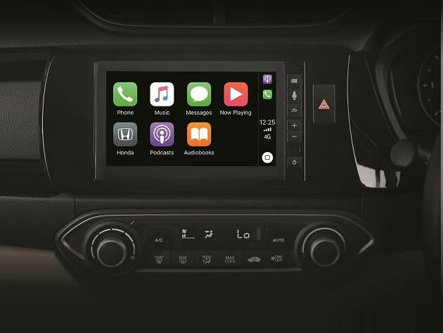 Honda Amaze Special Edition Infotainment System