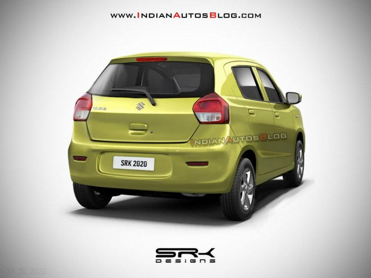 maruti celerio upcoming model Rear Rendering