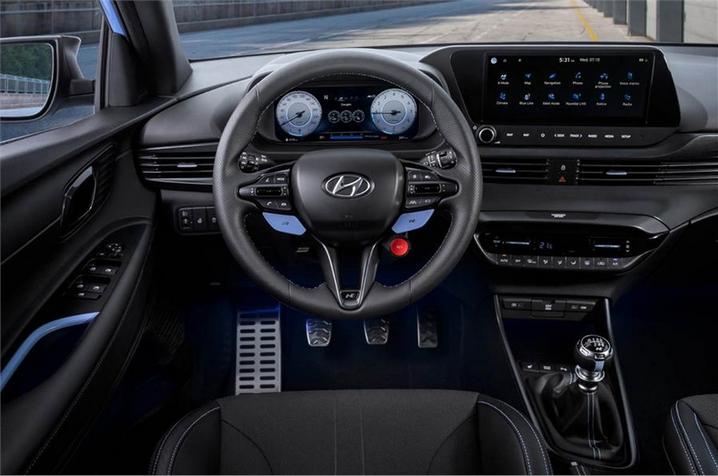 2021 Hyundai I20 N Performance Interior