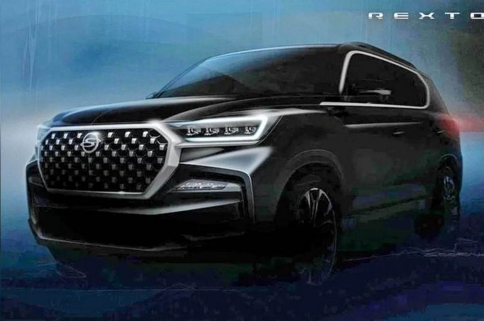 2021 Ssanyong Rexton Teaser Image Front