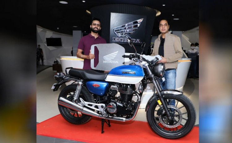 Honda Hness Cb 350 Deliveries