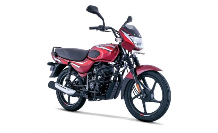 New Bajaj Ct100 Front Right