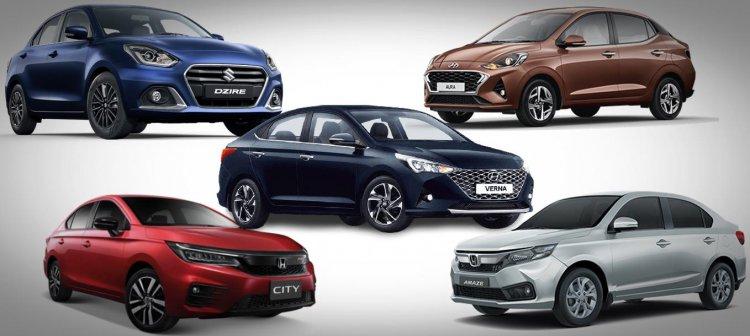 Top Sedans in India