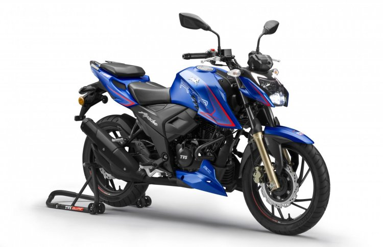 New Tvs Apache Rtr 200 4v Front Right