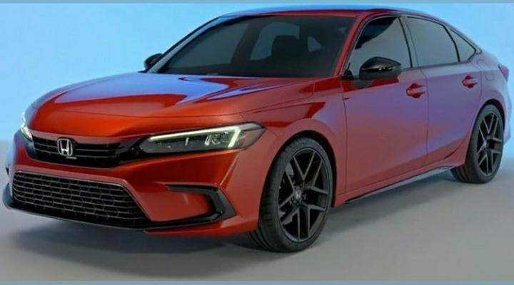 2022 Honda Civic Front Left