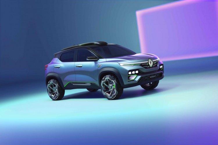Renault Kiger Concept Front Right Side