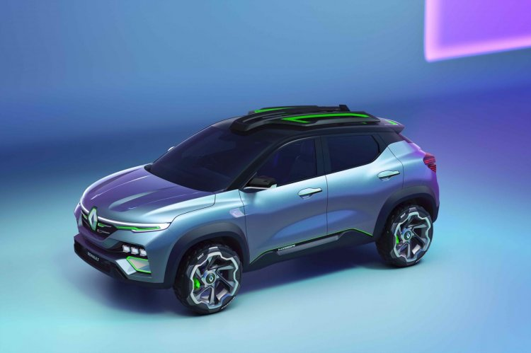 Renault Kiger Concept Left Side