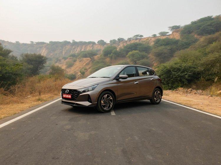 Hyundai I20 Front 3 Quarters