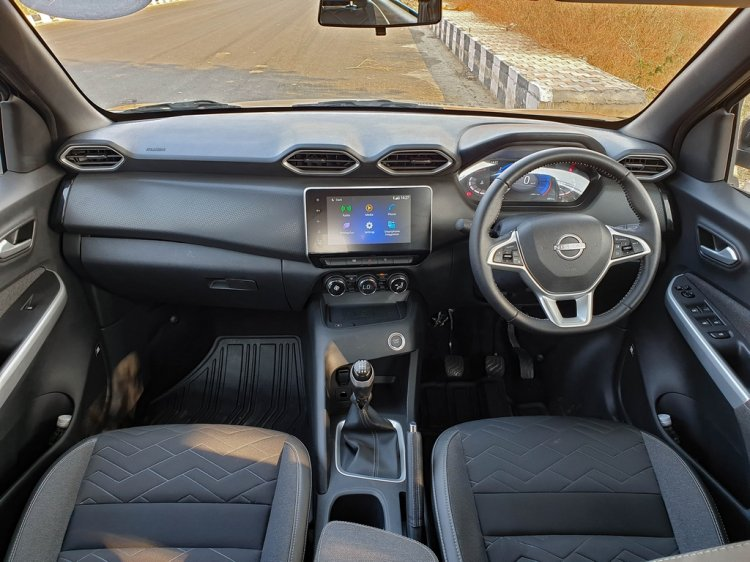 All New Nissan Magnite First Review Interior Dashb
