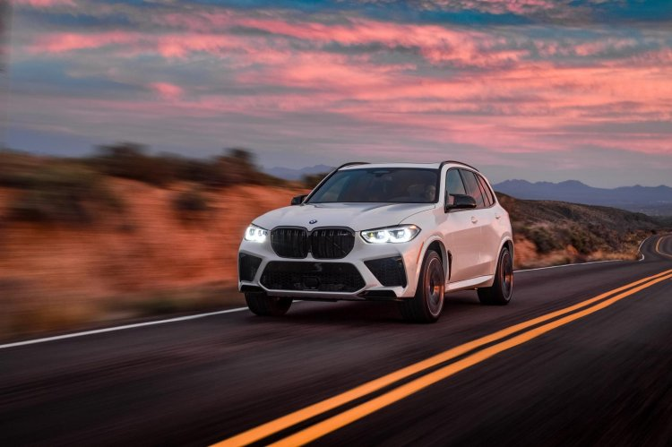Bmw X5 M Competition In Action