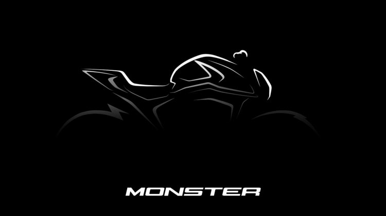 2021 Ducati Monster Teaser Right Side