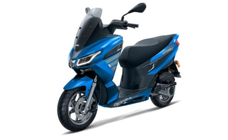 Aprilia Sxr 160 Front Right Blue