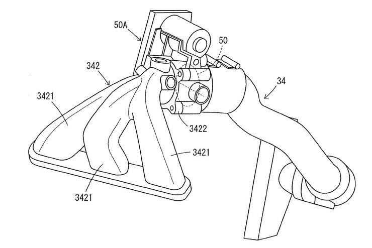 Turbocharged Yamaha Bike Patent Drawing Intake Man