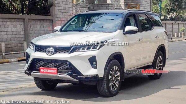 Toyota Fortuner Legender Spied 4