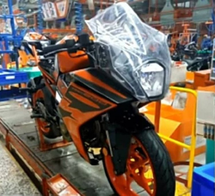 2021 Ktm Rc200 Spied At Factory