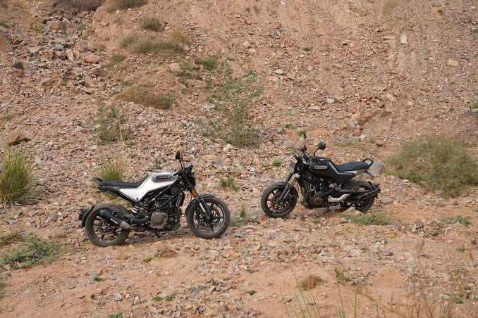Husqvarna Svartpilen 250 And Vitpilen 250 First Ri