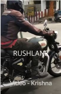 Royal Enfield Classic 350 Spied 2
