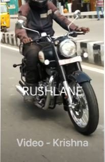 Royal Enfield Classic 350 Spied 3