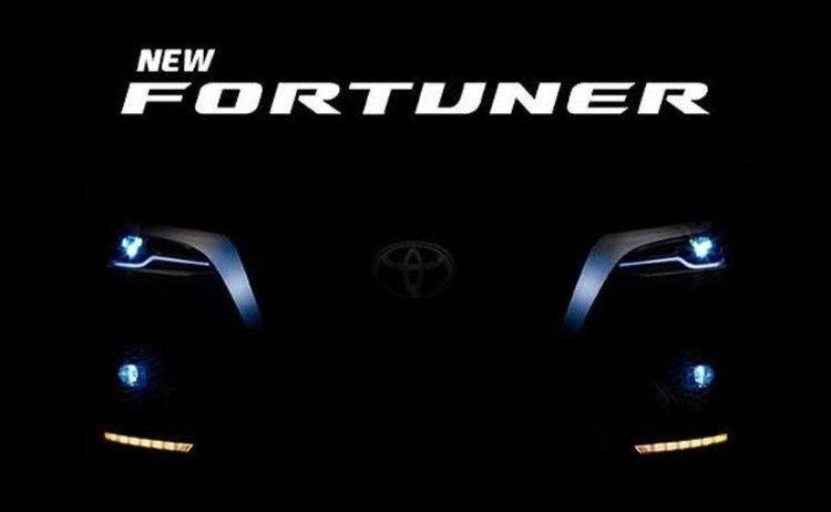 Toyota Fortuner Facelift Teaser