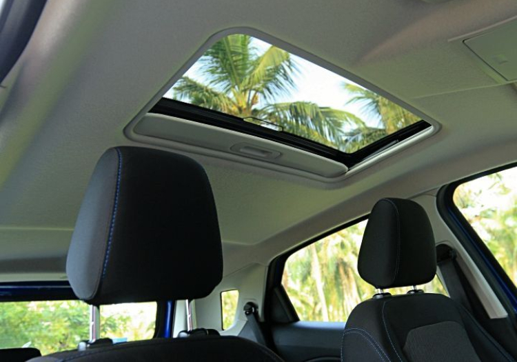 Ford Ecosport Sunroof 1