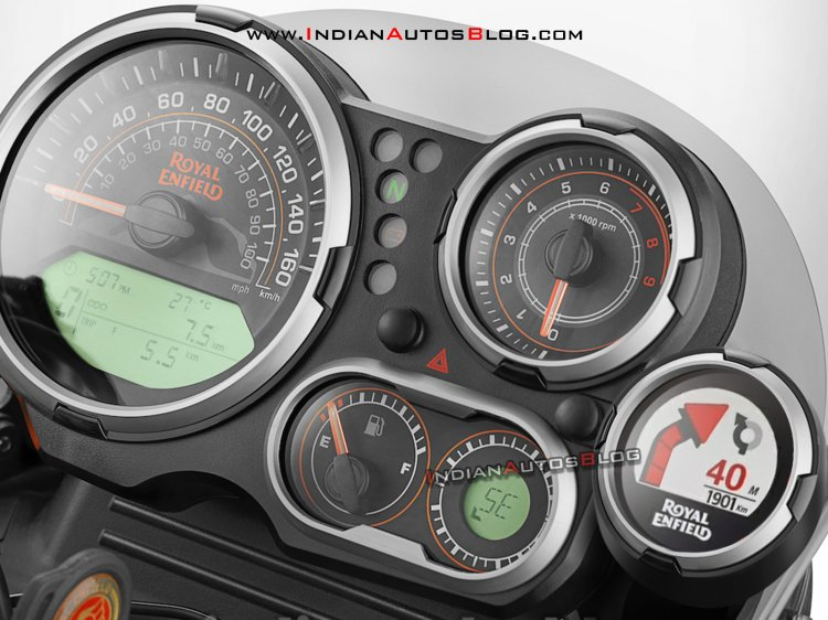 2021 Royal Enfield Himalayan Tripper Navigation Re