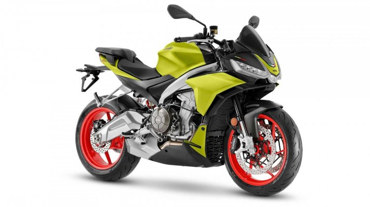 Aprilia Tuono 660 Acid Gold Front Right