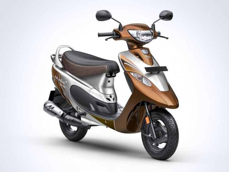 Tvs Scooty Pep Mudhal Kadhal Edition Front Right