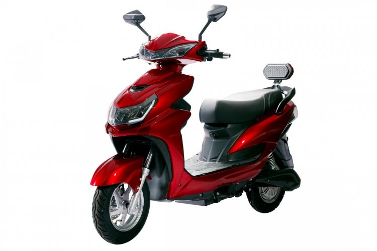Odysse E2go Red Front Left