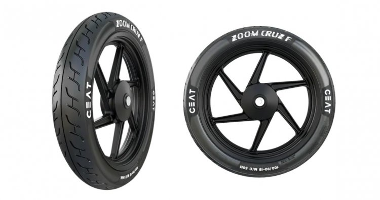 Ceat Zoom Cruz F Tyres For Int 650