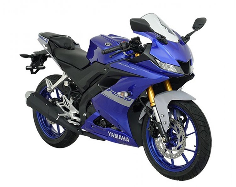 2021 Yamaha R15 Front Right Indonesia