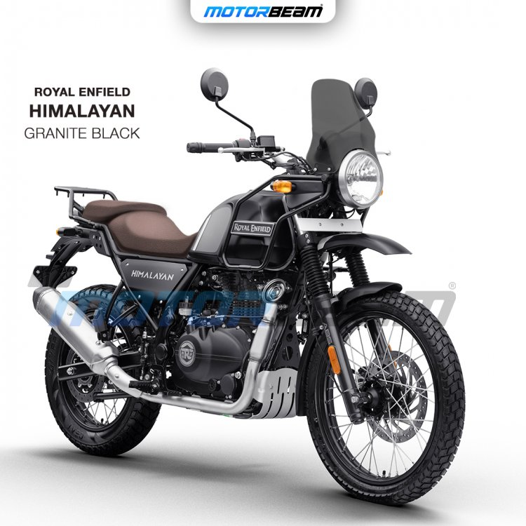 2021 Royal Enfield Himalayan Granite Black