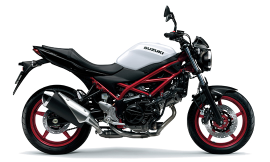 2021 Suzuki Sv650 Glass Sparkle Black Brilliant Wh