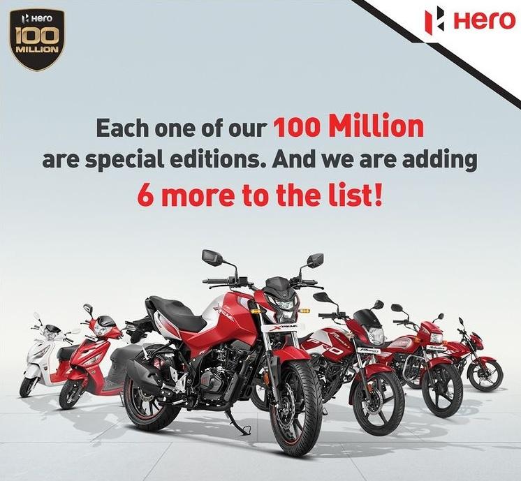 Hero Motocorp Special Editions