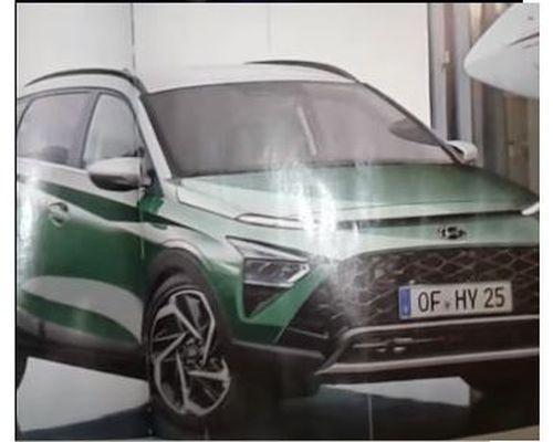 Hyundai Bayon Leaked 3