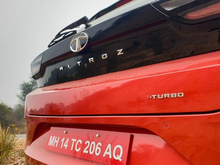 Tata Altroz Iturbo Badge