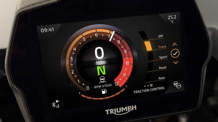 2021 Triumph Speed Triple 1200 Rs Detail Display R