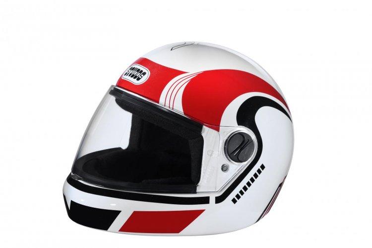 Studds Jade D3 Decor Helmet Red Left