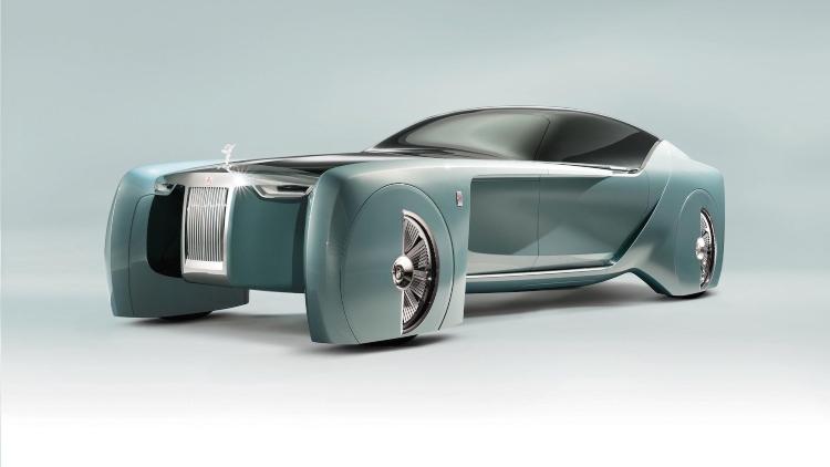 Rolls Royce 103ex Concept Front Quarter