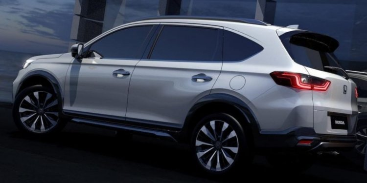 Honda N7x Concept side profile pictures