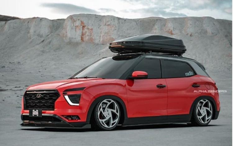 Hyundai Creta lowering rendering