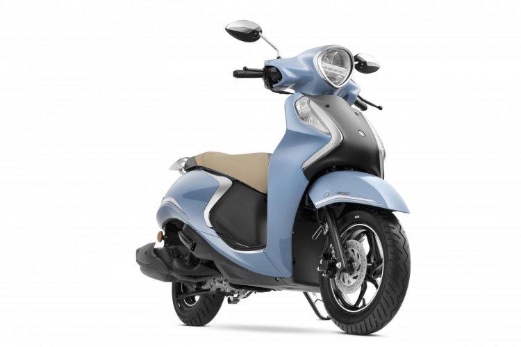Yamaha Fascino Cool Blue Metallic