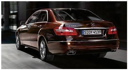 2010 Mercedes Benz E-Class Sedan Leaked Press Photo rear