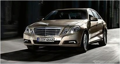 2010 Mercedes Benz E-Class Sedan Leaked Press Photo Front