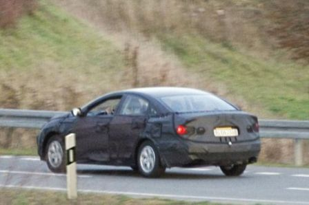 2010 Hyundai Sonata rear