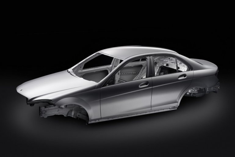 Mercedes Benz C-Class Body shell Monocoque