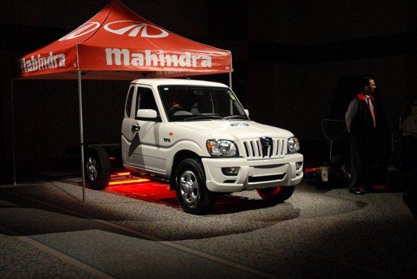 2009 Mahindra Pik-Up Australia - 2